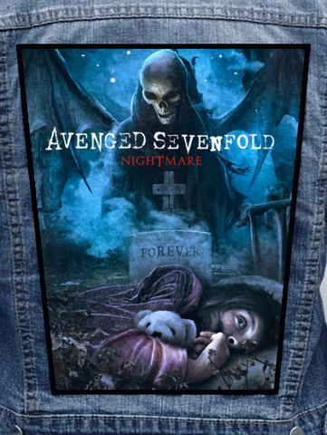 Avenged Sevenfold - Nightmare Metalworks Back Patch