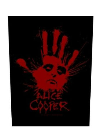 Alice Cooper - Splatter Hand Back Patch