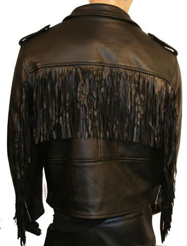 80's Metal 'Retro Rockstar' Leather Jacket