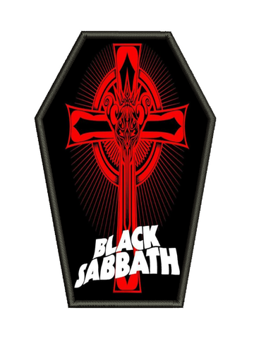 Black Sabbath - Crucifix Metalworks Back Patch