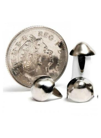 80's Metal Cone Studs