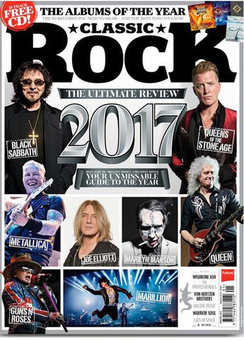 Classic Rock Magazine - January 2018