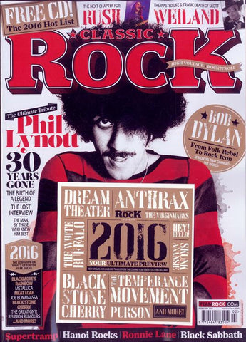 Classic Rock Magazine - February 2016