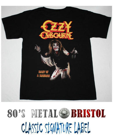 Ozzy Osbourne - Diary Of A Madman T Shirt