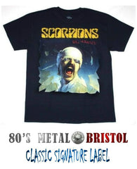 Scorpions - Blackout T Shirt