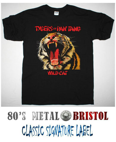 Tygers Of Pan Tang - Wildcat T Shirt