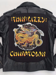 Metalworks Thin Lizzy 'Chinatown' Leather Jacket