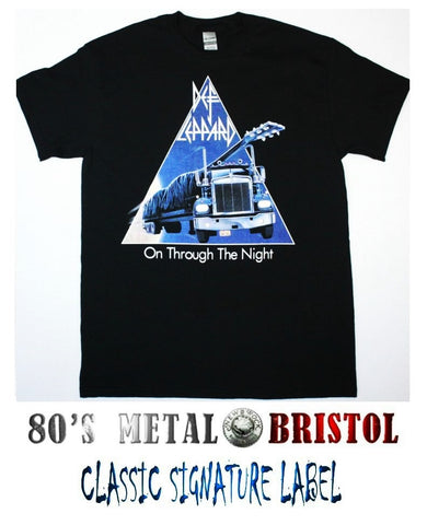 Def Leppard - On Through The Night T Shirt