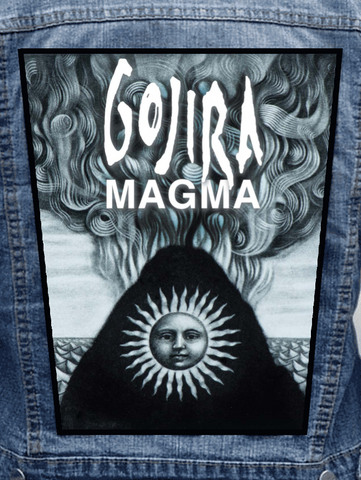 Gojira - Magma Metalworks Back Patch