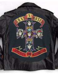 Metalworks Guns N' Roses 'Appetite for Destruction' Leather Jacket