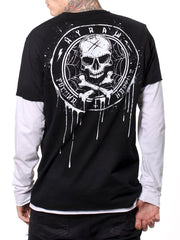 Hyraw 'Land' Mens F***ing Hostile Long Sleeved Tee