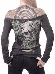 Hyraw 'Mystery' Womens F***ing Hostile Long Sleeve Reversible Tee
