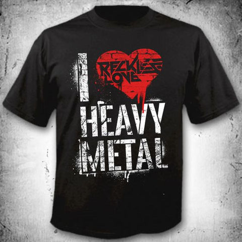 I Love Heavy Metal T Shirt