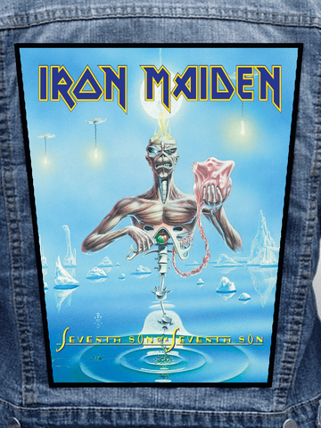 Iron Maiden - Seventh Son Of A Seventh Son Metalworks Back Patch