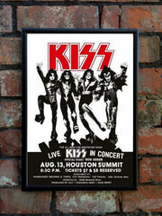 Kiss 'Destroyer' US Tour Poster