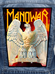 Manowar - Battle Hymns Metalworks Back Patch