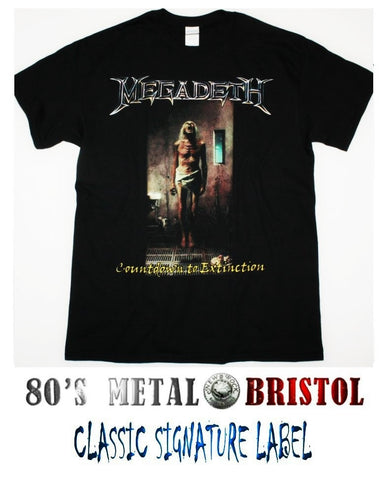 Megadeth - Countdown To Extinction T Shirt