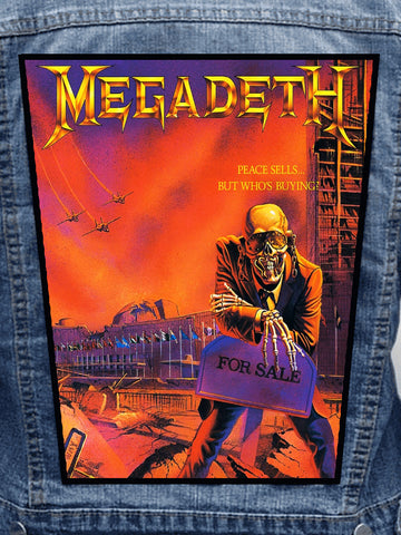 Megadeth - Peace Sells Metalworks Back Patch