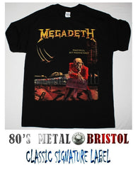 Megadeth - Peace Sells T Shirt