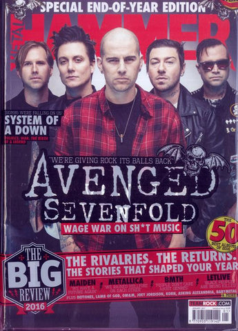 Metal Hammer Magazine - January 2017