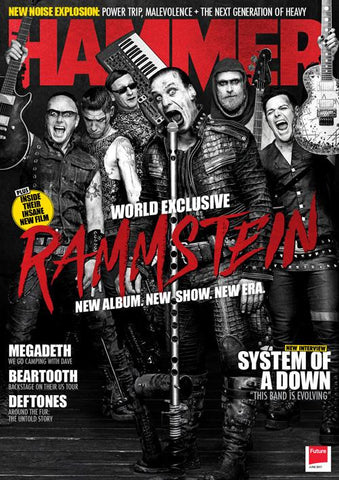 Metal Hammer Magazine - June 2017