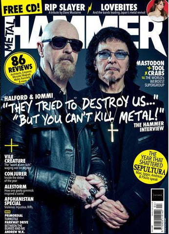 Metal Hammer Magazine - April 2018