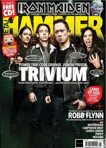 Metal Hammer Magazine - May 2018