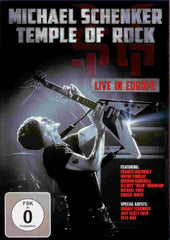 Michael Schenker Temple Of Rock Gig DVD