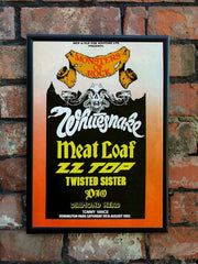 Monsters Of Rock '1983' UK Festival Poster