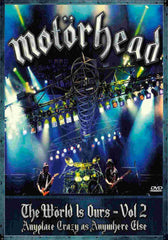 Motorhead The World Is Ours Volume 2 Gig DVD