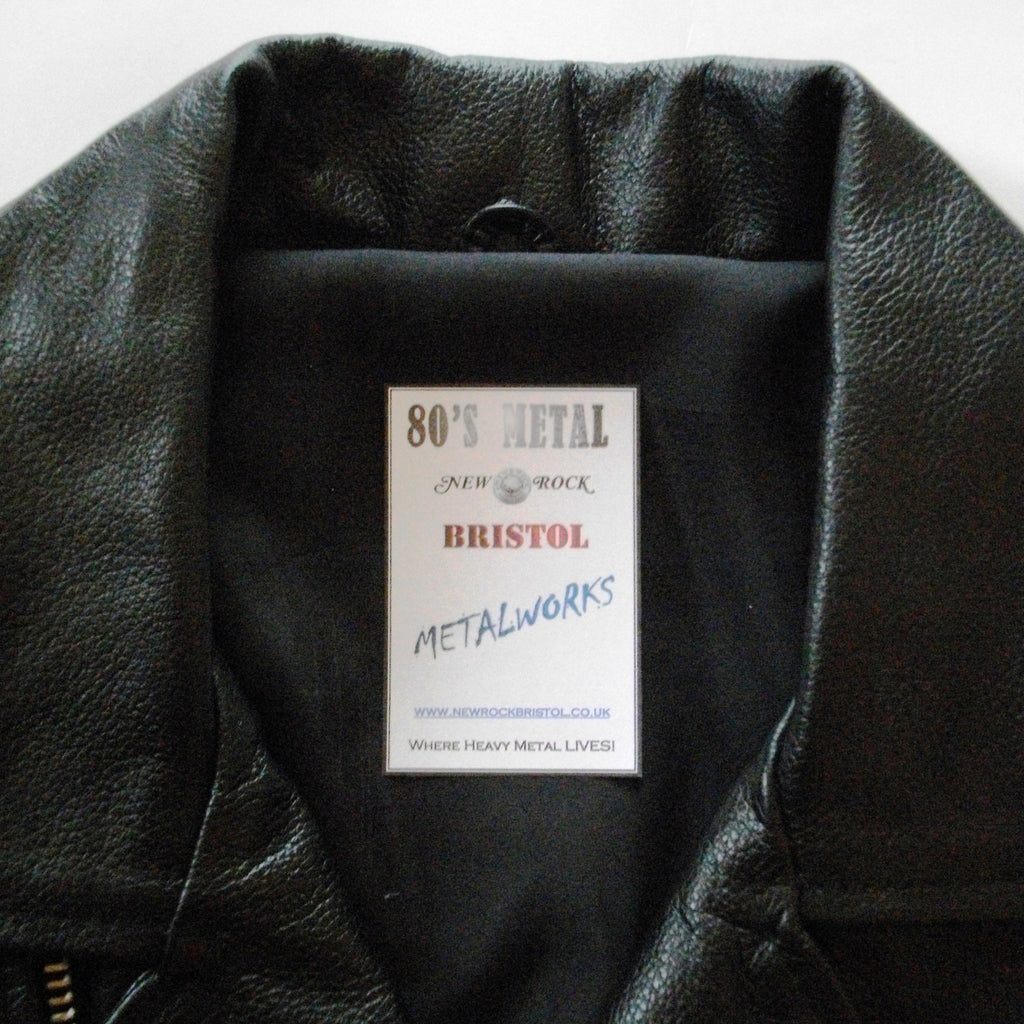 Motley crue leather jacket