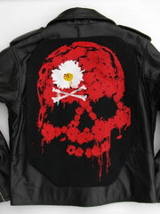 Metalworks Dead Daisies 'Red Skull' Leather Jacket