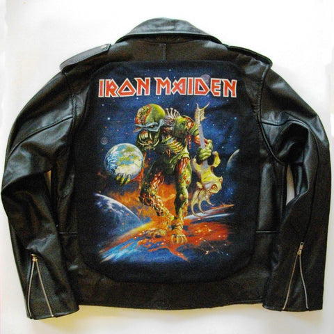 Metalworks Iron Maiden 'Final Frontier' Leather Jacket 2