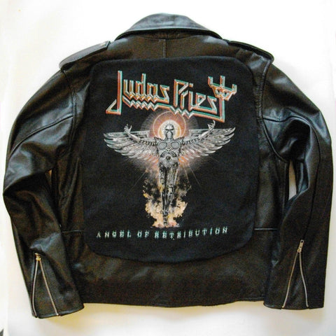 Metalworks Judas Priest 'Angel Of Retribution' Leather Jacket