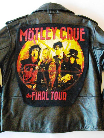 Metalworks Motley Crue 'Final Tour' Leather Jacket