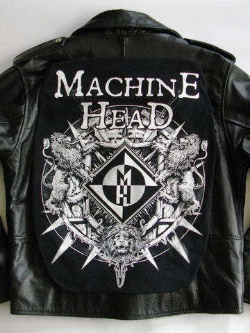 Metalworks Machine Head 'Imperium' Leather Jacket