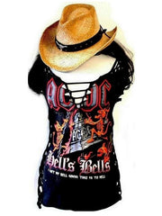 Metalworks AC/DC 'Hells Bells' Rock Top Special