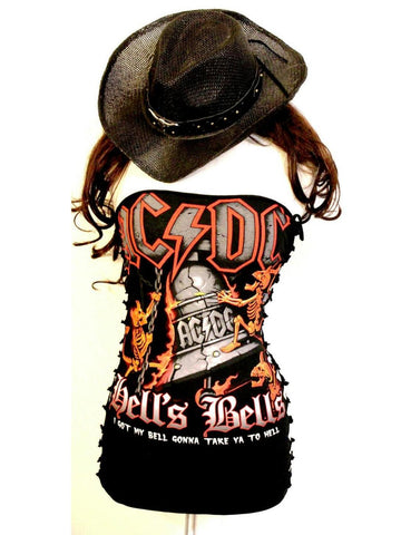 Metalworks AC/DC 'Hells Bells' Rock Top Classic