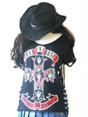 Metalworks Guns N' Roses 'Appetite For Destruction' Rock Top Special