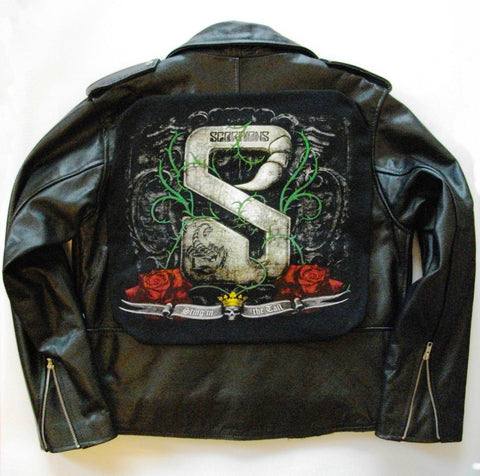 Metalworks Scorpions ''Sting In The Tail' Leather Jacket