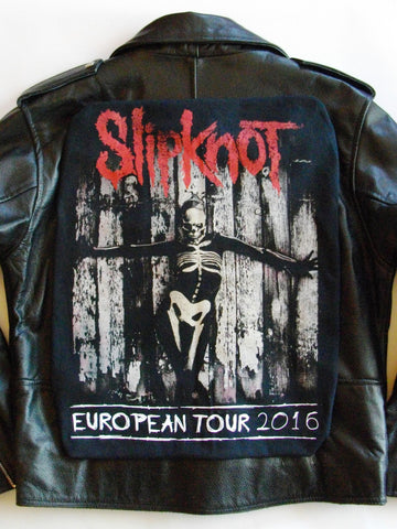 Metalworks Slipknot 'The Gray Chapter' Leather Jacket