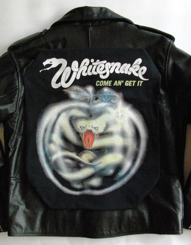 Metalworks Whitesnake 'Come An' Get It' Leather Jacket