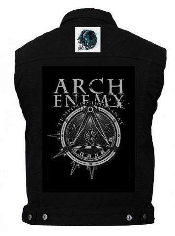 80's Metal 'Arch Enemy & In Flames' Battlejacket