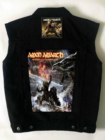 Metalworks Amon Amarth 'Twilight & Berserker' Battlejacket