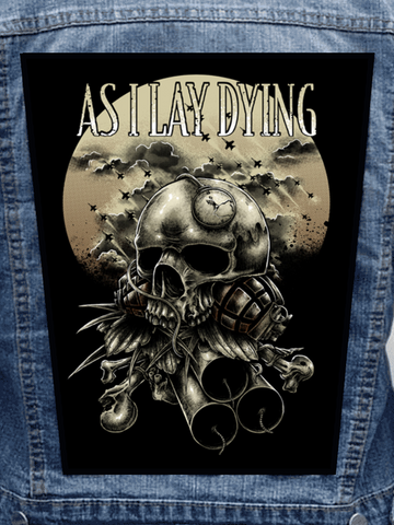As I Lay Dying - War Metalworks Back Patch