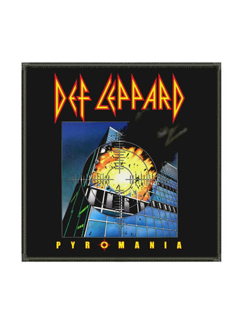 Def Leppard - Pyromania Metalworks Patch