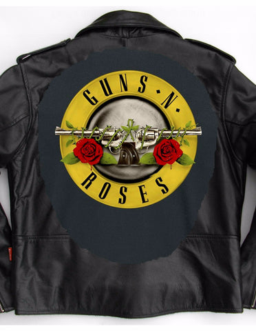Metalworks Guns N' Roses 'Pistols' Leather Jacket