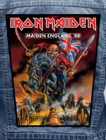 Iron Maiden - Maiden England Metalworks Back Patch