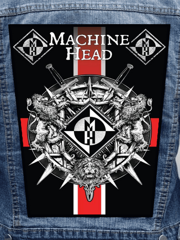 Machine Head - Killers & Kings Metalworks Back Patch