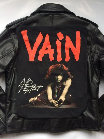 Metalworks Vain 'No Respect' Leather Jacket
